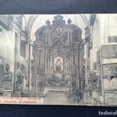 Postales: TARJETA POSTAL ANTIGUA Nº15 DE PALAFRUGELL-ERMITA-EL SANTUARIO,DE L.ROISIN-SIN CIRCULAR. Lote 72368723