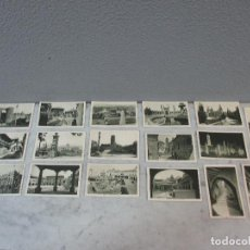 Postales: LOTE 17 POSTALES ANTIGUAS - EXPOSICIÓN INTERNACIONAL DE BARCELONA -PUBLICIDAD -Cª NACIONAL HILADURAS. Lote 72841907
