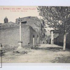 Postales: ANTIGUA POSTAL - 6. BORGES DEL CAMP. CARRER HOSPITAL - L. ROISIN - SIN CIRCULAR - #PJS. Lote 73130883