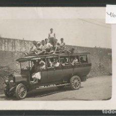 Postales: LLORET DE MAR - AUTOBUS - COCHE LINEA - FOTOGRAFICA - (46.035). Lote 73298071