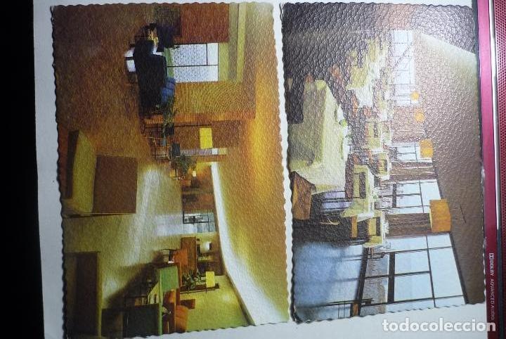 LOTE POSTALES ALCANAR PLAYA HOTEL CARLOS III--INTERIORES (Postales - España - Cataluña Moderna (desde 1940))