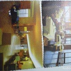 Postales: LOTE POSTALES ALCANAR PLAYA HOTEL CARLOS III--INTERIORES. Lote 73439623