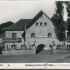 Postales: PONT DE SUERT-15---ENHER--RESIDENCIA JEFATURA--FOIX-MUY RARA-AÑOS 50. Lote 73525427