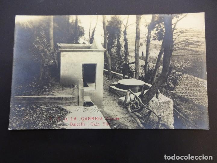 LA GARRIGA. FUENTE BALCELLS (CAN YLLA). POSTAL FOTOGRÁFICA (Postales - España - Cataluña Antigua (hasta 1939))
