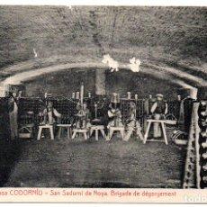 Ps7279 sant sadurn d 39 anoia 39 brigada de d gorge comprar postales antiguas de catalu a en - Tiempo en sant sadurni d anoia ...