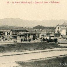 Postales: LA GLEVA - SANTUARI DESDE 'L GUINART - ATV Nº13. Lote 74714487