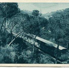 Postales: BARCELONA- TIBIDABO -FUNICULAR- ROISIN. Lote 75492499