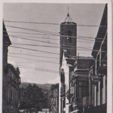 Postales: POBLA DE SEGUR (LÉRIDA) - CALLE DE SAN MIGUEL DEL PUY - TALLERES A. ZERKOWITZ - BARCELONA. Lote 75828487