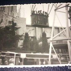 Postales: ANTIGUA FOTOGRAFÍA. TIBIDABO. BARCELONA. FOTO AÑO 1963.. Lote 75990455