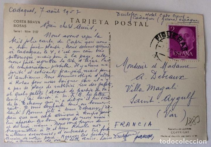 Postal Fotografica Vista General Rosas Geron Buy Postcards From