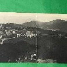 Postales: BARCELONA - VISTA PANORÁMICA DEL MONTE DEL VALLVIDRERA - GRAN POSTAL DESPLEGABLE - L. ROISIN FOTOGRO. Lote 76074895