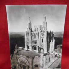 Postales: 1920 - 1930 - FOTO POSTAL *BARCELONA. TIBIDABO. TEMPLO EXPIATORIO DEL SAGRADO CORAZÓN* ZERKOWITZ. Lote 76638143