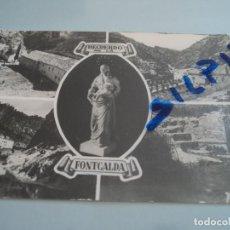 Postales: GANDESA Nº 4 RECUERDO DE LA FONTCALDA FOT. RAYMOND. Lote 76745915