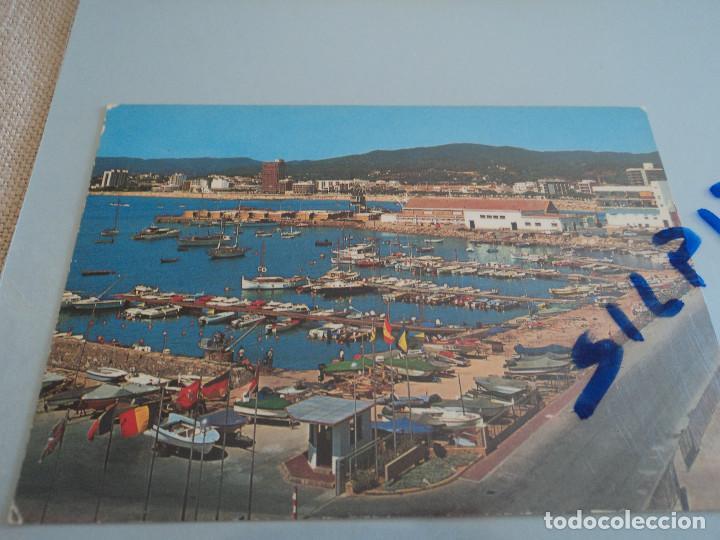 PALAMOS (GERONA) - GE 2209 CLUB NAUTICO SADAGCOLOR (Postales - España - Cataluña Moderna (desde 1940))