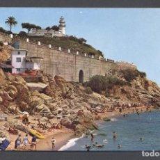 Postales: P2027.- CALELLA.- FARO Y ROCAS. Lote 77754397