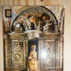 Postales: POSTAL ARTE VIRGEN BARCELONA - MONSERRAT LA SANTA IMAGEN COMERCIAL ESCUDO DE ORO. Lote 77959825