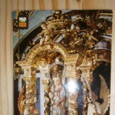 Postales: POSTAL ARTE VIRGEN BARCELONA - SANTUARI DE NOSTRA SENYORA DE LA GLEVA ESCUDO DE ORO. Lote 77960253