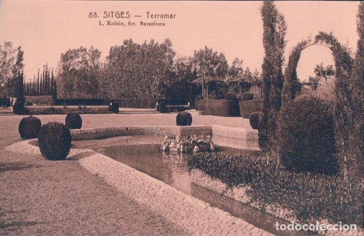 POSTAL SITGES - TERRAMAR 88 - L. ROISIN (Postales - España - Cataluña Antigua (hasta 1939))
