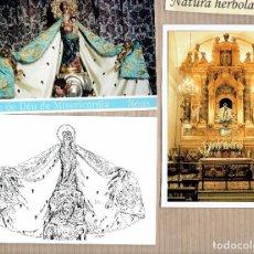 Postales: REUS - MARE DE DÉU DE MISERICÒRDIA - 2 POSTALS 1 FOTO - IBG - LLUÍS DEL REI - VISTABELLA . Lote 79559237