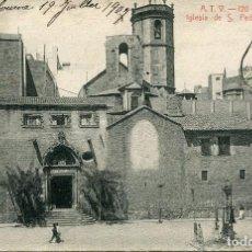 Postales: BARCELONA-SAN PEDRO DE LAS PUELLAS- ATV Nº 120- AÑO 1907. Lote 79568717