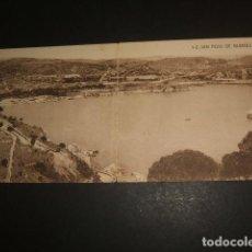 Postales: SAN FELIU DE GUIXOLS GERONA GIRONA VISTA GENERAL POSTAL DOBLE. Lote 79813153