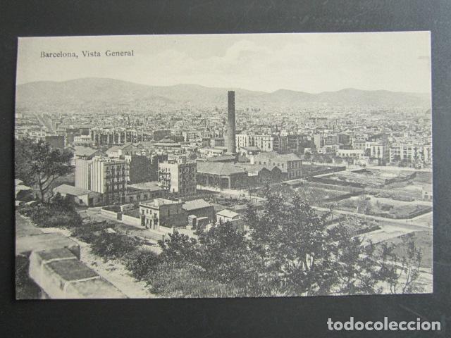 POSTAL BARCELONA. VISTA GENERAL. (Postales - España - Cataluña Antigua (hasta 1939))