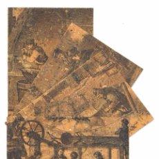 Postales: COLLECCIO COMPLETA DE 4 POSTALS DE PALAFRUGELL IMPRESES SOBRE SURO (MUSEU DEL SURO). CORCHO. Lote 96015495