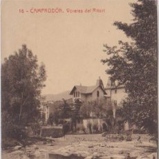 Postales: CAMPODRÓN (GERONA) - VORERES DEL RITORT - FOTOTIPIA THOMAS - BARCELONA. Lote 80159857