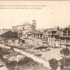 Postales: VICH - ÁBSIDE DE LA CATEDRAL .....PALMAROLA - VICH SIN CIR.. Lote 80339813