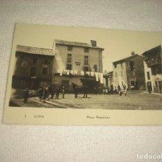 Postales: LLIVIA . PLAÇA REPUBLICA . POSTAL FOTOGRAFICA. Lote 81124632