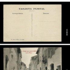Postales: 4. POBLA DE MONTORNES. CARRER MAJOR. R.GABRIEL GIBERT. TARRAGONA.. Lote 81326708