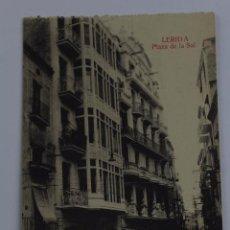 Postales: P- 6531. POSTAL LERIDA, PLAZA DE LA SAL.. Lote 81904636
