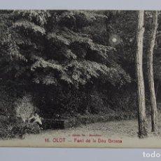 Postales: P- 6548. POSTAL OLOT, FONT DE LA DEU GROSSA. Nº16 L. ROISIN.. Lote 81990352