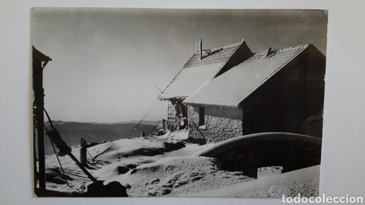 MONTSENY. OBSERVATORI METEREOLÒGIC DEL TURÓ DE L'HOME. FOTO G. DE CASTRO. NO CIRCULADA (Postales - España - Cataluña Moderna (desde 1940))