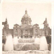 Postales: BARCELONA EXPOSICIÓN INTERNACIONAL 1929 PALACIO NACIONAL. Lote 83246076