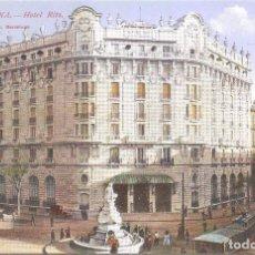 Postales: BARCELONA HOTEL RITZ. Lote 83311260