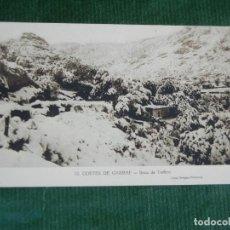 Postales: GARRAF.BARCELONA - BOCA DE L´INFERN. ED ARTIGAS- VILANOVA N 10. SIN CIRCULAR. Lote 83718560