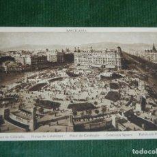 Postales: BARCELONA - PLAZA DE CATALUÑA - ROISIN - SIN CIRCULAR. Lote 83719328