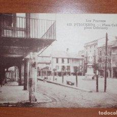 Postales: FOTO POSTAL PUIGCERDA. PLAZA CABRINETY. 423 MTIL. LOS PIRINEOS. Lote 84002776