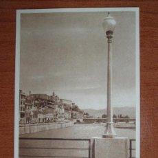Postales: ANTIGUA FOTO POSTAL BALAGUER. DE PUENTE A PUENTE. FOTO CARROVÉ. Lote 84078020