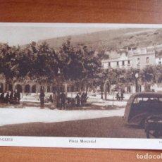 Postales: ANTIGUA FOTO POSTAL BALAGUER. PLAZA MERCADAL. FOTO CARROVÉ. Lote 84079332