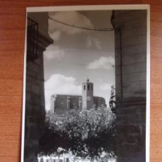 Postales: ANTIGUA FOTO BALAGUER.PERSPECTIVA DESDE CALLE MILAGRO. FOTO CALAFELL. Lote 84079784