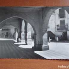 Postales: ANTIGUA FOTO POSTAL BALAGUER. PLAZA DEL POZO. FOTO GARCIA GARRABELLA. Nº 21. Lote 84080472