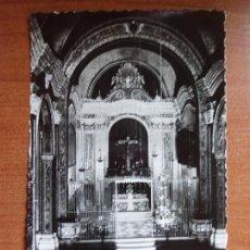 Postales: ANTIGUA FOTO POSTAL BALAGUER.ALTAR MAYOR SANTUARIO SANTO CRISTO. Nº 7.FOTO GARCIA GARRABELLA.. Lote 84083104