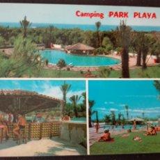 Postales: CAMPING PARK PLAYA BARÀ TARRAGONA. Lote 83368628