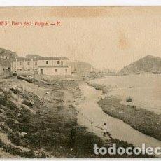 Postales: GIRONA BLANES BARRI DE L'AUGUÉ. FOTOTIPIA THOMAS. SIN CIRCULAR. Lote 84250760