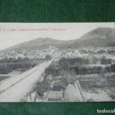 Postales: TORROELLA DE MONTGRI - GERONA A.T.V. 2386 VISTA GENERAL. Lote 84502836