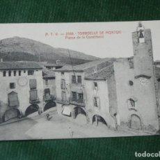 Postales: TORROELLA DE MONTGRI - GERONA A.T.V. 2388 PLASSA DE LA CONSTITUCIO. Lote 84502920