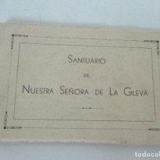 Postales: BLOC - ÁLBUM 20 POSTALES - NUESTRA SEÑORA DE LA GLEVA - HUECOGRABADO FOURNIER, VITORIA - COMPLETA. Lote 84623928