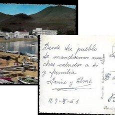 Postales: POSTAL * LLANSÀ , PLATJA ,PORT * 1961. Lote 84751808